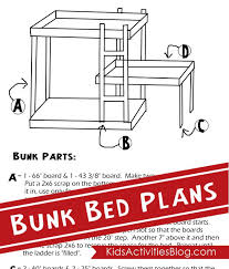Build A Bed Free Plans For Triple Bunk Beds - Triple bunk bed plans kids