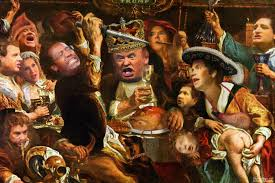 pic of thanksgiving dinner thanksgiving dinner at trump castle whowhatwhy