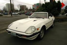 nissan datsun fairlady z old parked cars 1982 datsun nissan 280zx turbo