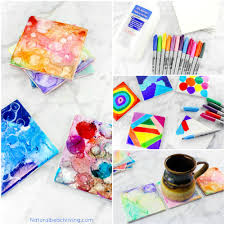 easy tile art for kids that everyone will enjoy natural beach living