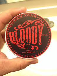 Pomade As bloody pomade 皓 the dapper society s grooming