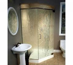 fabulous small corner shower enclosures space saving shower