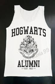 hogwarts alumni tank hogwarts alumni tank top harry potter tank by starmania99