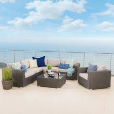Christopher Knight Patio Furniture Reviews Top Product Reviews For Santa Rosa Outdoor 7 Piece Wicker Seating