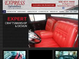 Upholstery St Louis Mo Express Upholstery Services Cars Saint Peters Mo