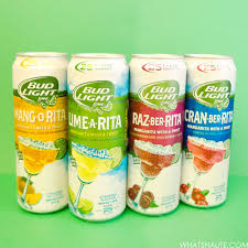 bud light flavors celebrate rita hour anytime with bud light lime ritas what s haute
