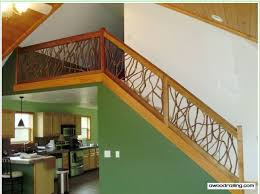 Wood Interior Handrails Interior Railing Choices For The Home Interior Railing Kits