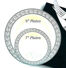clear plastic plates plastic dinnerware 1025 inspiration white and white