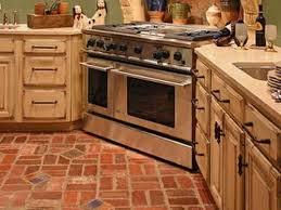 brick kitchen ideas rustic kitchen tiles brick floor marti style popular