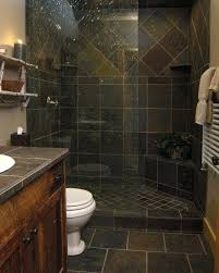 Slate Tile Bathroom Shower Bathroom Slate Gorgeous Slate Tile Shower For A Small Bathroom I