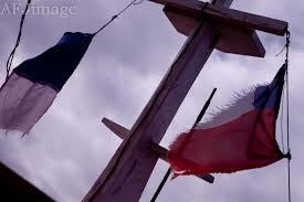 Chilian Flag Chilean Shellfish Divers Afjimage