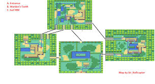 safari zone map sapphire safari zone map images images