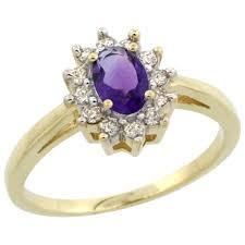 14k gold large diamond amethyst cy901102 jpg