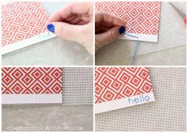 craftaholics anonymous hand stitched note cards with free