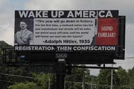 Seeking Adolf Adolf Gun Registration Quote On Dayton Tenn Billboard