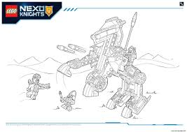 lego nexo knights products 6 coloring pages printable