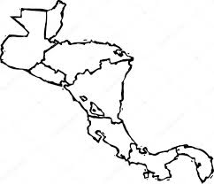 Central And South America Map Quiz by Of Central America Clipart Black And White