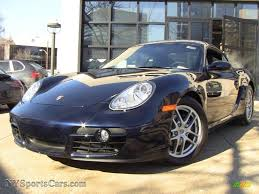 Porsche Macan Midnight Blue - 2007 porsche cayman in midnight blue metallic 763044