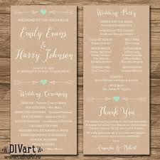 wedding program card stock wedding program paper stock tags awesome design wedding program