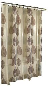 sheer shower curtains amazon com