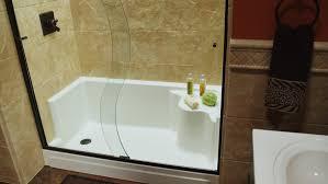 Bathroom Tub To Shower Conversion Tub To Shower Conversion Rebath Of Augusta Bathroom Remodeling
