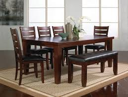 Dining Room Tables Bench Seating 19 Decoration With Dining Room Sets With Bench Manificent Perfect