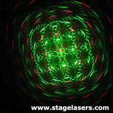 Christmas Laser Light Show Laser Stage Lighting Projector For Christmas Bomgoo