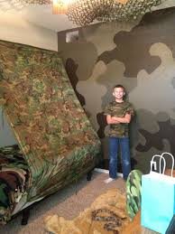 Camoflage Bedroom Best Army Bedroom Wall Home Design 1081