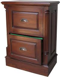 Mahogany Filing Cabinet Standard 2 Drawer Mahogany Filing Cabinet With Antique Handles
