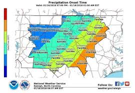 Western North Carolina Map Snow Nc Forecast Update When Will It Snow In Raleigh Triangle