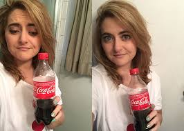 coke rinse hair i washed my hair with coca cola because suki waterhouse told me to