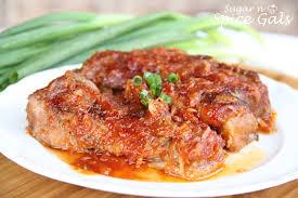 tangy bbq pork ribs sugar n u0027 spice gals