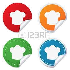 icone cuisine signe chef chapeau icône cuisine symbole cuisiniers chapeau