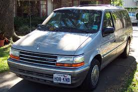 plymouth voyager we had two so far my old cars pinterest
