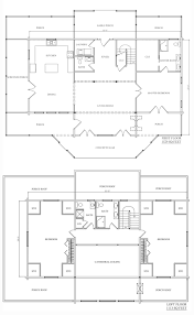 camden log home floor plan from katahdin cedar log homes