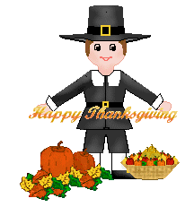 thanksgiving clip pilgrim boy happy thanksgiving title