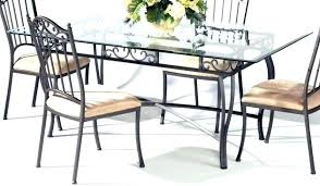 wrought iron dining table glass top wrought iron dining table elegant wrought iron kitchen chairs round