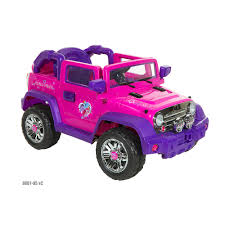 power wheels jeep barbie dynacraft my little pony 6v light up 4x4 ride on vehicle on shopsavvy