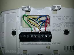 trane weathertron thermostat wiring diagram efcaviation com