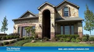 the alabaster lennar dallas new home tour youtube