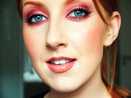 Green Or Blue Copper Makeup Tutorial Great For Green Or Blue Eyes Youtube