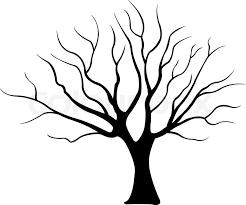 tree illustration stock vector colourbox