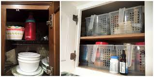 Rv Kitchen Cabinet Organizers Calm The Clutter Rv Storage Solutions And Organization Go Rving