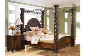 Bedroom Furniture Canopy Bed Shore King Canopy Bed Furniture Homestore