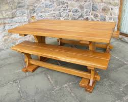 Solid Wood Patio Furniture by Bespoke Outdoor Furniture In Chester Wrexham Cheshire And North