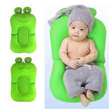 popular blooming bath buy cheap blooming bath lots from china frog shape foldable baby bathtub bathing cushion shower newborn baby bath mat soft seat infant bathtub
