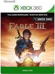 download full version xbox 360 games free fable 3 iii full game download code card microsoft xbox 360 live