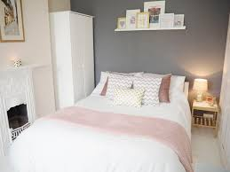 gray and pink bedroom pink