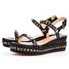 cataclou 60 black black gun leather women shoes christian