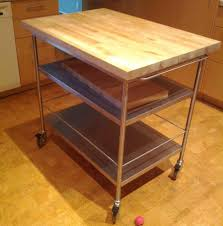 wood rolling kitchen island ikea very practical rolling kitchen